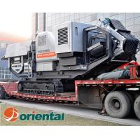 China Tracked Mobile Screening Plant on sale
