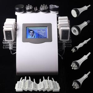 Quality 5 Handles laser liposuction equipment , rf cavitation machine for sale