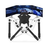 Quality Adult Game VR Racing Simulator L210*210*200cm Six Axle For Shopping Mall for sale