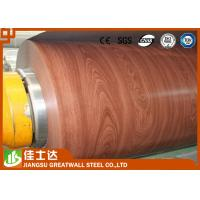 Quality ASTM,AISI,JIS,GB,CGCC Wooden Color Ppgi Steel Coil Pre-Painted Galvanized Steel Coils for sale