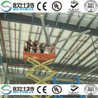 Buy cheap OPT 24ft industrial HVLS fans for big factory cooling and ventilation with big from wholesalers