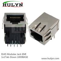 Best Shielded RJ45 Modular Jack Connector, Through Hole Type, 100Mbps wholesale