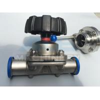 Quality Stainless Steel Three Way Sanitary Diaphragm Valve (ACE-GMF-C1) for sale