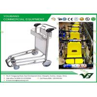 Best Durable Convenient Airport Luggage Trolley , airport luggage cart for Transport bag wholesale