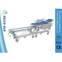 Quality Cold Roll Steel Ambulance Patient Transfer Stretcher Cart For Operation Room for sale