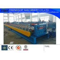 Quality Galvanized Steel Floor Metal Deck Roll Forming Machine With 19 Forming Stations for sale