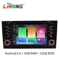Quality Android 8.0 Car Audi Car DVD Player Canbus Gps Rear Camera Stereo For A6 for sale