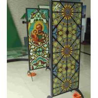 Buy cheap High quality interior safety shatterproof glass partition wall from wholesalers