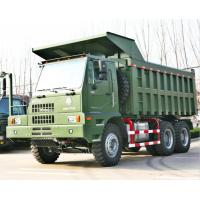 Quality 6x4 Driving Mining Dump Truck , Heavy Duty 6x4 Tipper Truck 371hp / 420hp Engine Power for sale