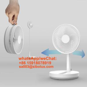 Quality foldable small table dc stand desktop plastic electric fan floor fan/standing fan for sale