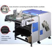 Quality Dustless V Grooving Machine Atomatic Aligning Feeding For Making Rigid Boxes for sale