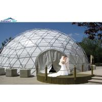 Luxury Round PVC Geodesic Domes Wedding Events Tents for Sale