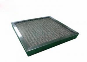 Quality Washable High Temperature  Pre Air Filter Corrosion Resistant With SUS Frame for sale
