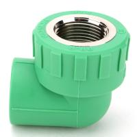 Buy cheap PN16 PN20 Drain Pipe Accessories PPR 90 Degree Plastic Threaded Female Elbow from wholesalers