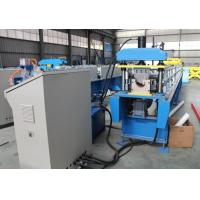 Quality Steel Round Profile Rain Water Gutter Sheet Roll Forming Machine with Auto Cutter and Metal Rollformer for sale