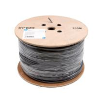 Best PE Insulation Network Cat5e Sftp Cable / 100% Copper Lan Cables 305 M / Roll wholesale