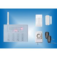 Quality Low Price GSM Alarm System with 16 wireless zone and touch keypad CX-GSM3 for sale