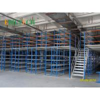 Quality Durable Mezzanine Heavy Duty Shelving With Steel Floor Stair 300kg - 2000kgs Capacity for sale
