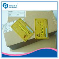 Best Gold Hot Stamping Plastic Card Printing , CR80 PVC Business Card With Serial Number wholesale