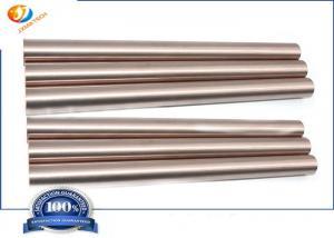 Quality 200mm Heat Resistance WCu50 EDM ECM Tungsten Copper Bar for sale