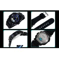 Quality 5 ATM Analog Digital Wrist Watch , ABS Case LCD Display Wrist Watches for sale