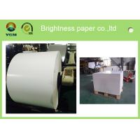 Quality Jumbo Roll Blister Board Paper Large White Cardboard Moisture Proof for sale