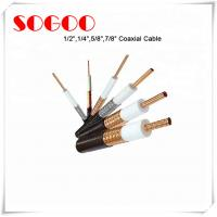 China Coaxial Cable 1/2 3/4 7/8 RF Feeder Cable For Telecom RoHS Approval on sale