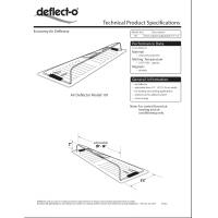 Quality Wall Register Air Deflector With Adjustable Venting Hood 10'' X 14'' for sale