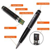 Quality cheap spy camera pen wholesale high quality spy camera pen  hidden micro camera mini dv dvr video camera made in china for sale