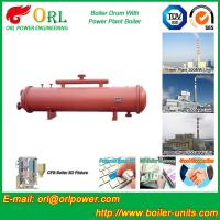 Boiler Parts Coal Fired Boiler Steam Drum Corrosion Resistance For Industrial
