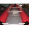 Best PVC aluminum flat bottom sport boat/pvc inflatable boat with aluminum floor wholesale