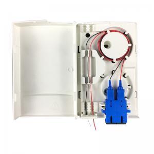 Quality Fiber Optic Wall Socket Panel End User Box Plastic Wall Mount Fiber Termination Box for sale
