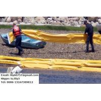 Quality PVC Coated Tarpaulin for Beach Sealing Oil Boom for sale