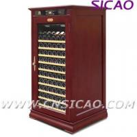 Quality Wooden Wine Cooler ; Refrigerated Wine Cabinet for sale
