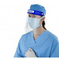Quality PE Face Shield for Epidemic Prevention , Transparent Full Face Safety Cover for sale