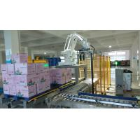 Quality High Flexibility Robotic Palletizing System For Cartons 0.5 - 0.7MPa Air Pressure for sale