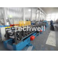 Quality Auto Changeover CZ Purlin Roll Forming Machine / CZ Section Cold Roll Forming Machine for sale