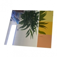 Quality Silver Colored 0.2mm 6.0mm Clear Mirror Aluminum Sheet 3mm To 3000mm Width for sale