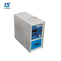 Quality Small 30A 40KHZ High Frequency Induction Furnace For Aluminium Melting for sale