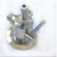 Quality Hygienic Stainless Steel 304 Manual PTFE Sealing Clamp Sample Valve Stainless Steel Automatic Return Aspetic Sample Val for sale