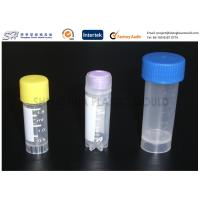 Quality Laboratory PP plastic test tubes with caps , Plastic Labware Injection Mold for sale