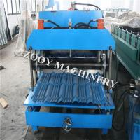 Quality Light steel structure Tile Roll Forming Machine 0.3mm- 0.8mm thickness for sale