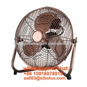 Quality 12 inch electric high velocity floor fan for office and home appliances/Ventilador de piso de alta velocidad for sale