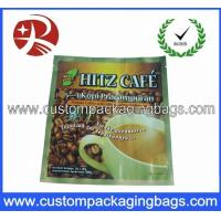 Quality 250g Pure Aluminum Foil Plastic Coffee Packaging Bags with Stand up for sale