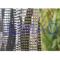 Quality Various Color Metal Mesh Cloth Aluminum Alloy4 Sequins With Images On Surface for sale