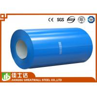 Quality Blue Prepainted Galvanized Color Steel Coil PPGL Coils 700-1250mm Width for sale