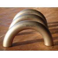 Buy cheap stainless steel 180 elbow from wholesalers