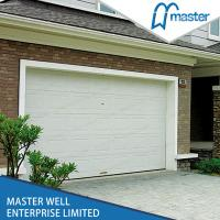 Quality Stripes Automatic Insulated Garage Doors , Finger Protection Function for sale
