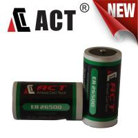 Buy cheap ACT 3.6 Volt C 9000 mAh (LS26500 and ER26500) Primary Lithium Battery from wholesalers
