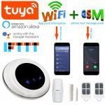 Quality Tuya 433 MHz WIFI GSM Security Wireless Home Burglar Alarm Systems DC9V-12V for sale